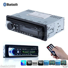 Bluetooth Car Stereo Audio LCD In-Dash Unit FM Radio Aux Input SD USB MP3 Remote