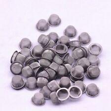 10pcs/set 12mm Metal Crystal Quartz Smoking Pipes Wand Filters Kit Accessories
