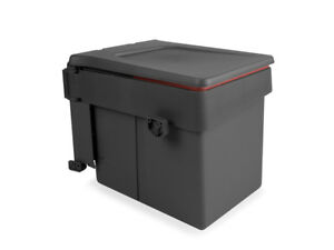 Door Mounted Waste Bin Swing Out - Min 450 mm Cabinet - 15l Container