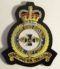 UK Britain RAF Chaplains Branch Squadron Church Chapel Division Uniform Patch EU