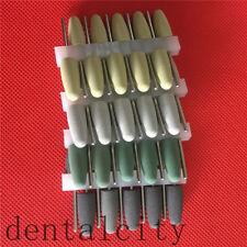 10pcs SILICONE Rubber Resin Base acrylic Polishing Burs 2.35mm Dental Supplies