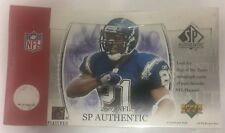 2003 Upper Deck SP Authentic Football Factory Sealed Hobby Box
