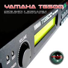 YAMAHA TG500 HUGE Original Factory & New Created Sound Library/Editors on CD