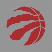Toronto Raptors #4 NBA Team Logo Vinyl Decal Sticker Car Window Wall Cornhole