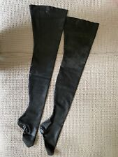 ATSUKO KUDO Couture Latex High Stockings with hold up tabs Size S/M