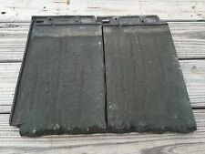 Ludowici/Celadon Roof Tile Moss Green Patina Americana Tree Bark, 10 Pieces $50.
