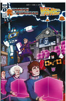 TRANSFORMERS/BACK TO THE FUTURE #1 Comic Book ~ IDW Hasbro Crossover