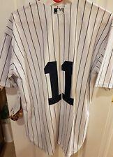 New York Yankees brett Gardner #11 pinstripes large white gorgeous