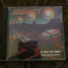JOURNEY A TEST OF TIME3 LIMITED EDITION PROMO ONLY CD SAMPLER CSK 4880 10 TRACKS