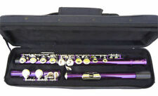 NEW PURPLE BAND C FLUTE W/CASE.APPROVED+ WARRANTY.