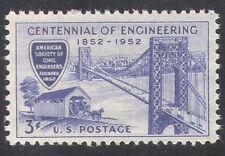 USA 1952 Bridge/Bridges/Horse/Cars/Engineering/Buildings/Transport 1v  (n29009)