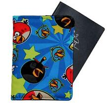 PASSPORT COVER/FOLDER/WALLET made from ANGRY BIRDS fabric by Graggie Australia