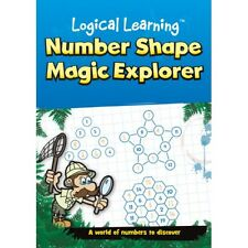 Number Shape Magic Explorer Numeracy Logical Learning Maths Book KS1 KS2 B051