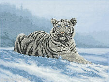 Maia Kit Broderie Point de Croix Compté Tigre - Siberian Tiger Cross stitch kit