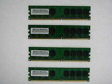 8GB 4X2GB RAM PC2-6400 800MHZ 2RX8 DDR2 NON-ECC Unbuffered For DESKTOP Memory