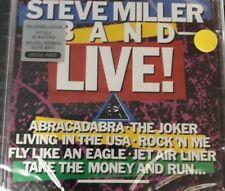 STEVE MILLER BAND- ...LIVE! *CD BRAND NEW STILL SEALED NUOVO SIGILLATO RARO