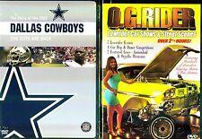 NFL Highlights:Dallas Cowboys 2003 & O.G. Rider- 2 DVDs