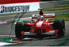 "Mika Salo ""Ferrari"" Autogramm signed 20x30 cm Bild"