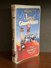 James And The Giant Peach VHS VG