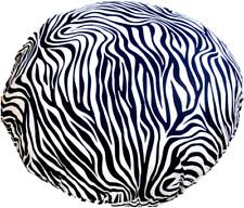 Bodenkissen  Dekokissen  Kissen  Zebra  schwarz-weiß  60 cm