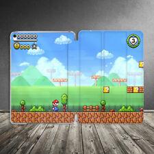 Case For iPad Air Mini Pro 12.9 11 10.5 9.7 10.2 Retro Super Mario 90s Vintage