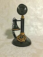 Vintage Tandy Radio Shack AM Transistor Radio Candlestick Phone Works So cool