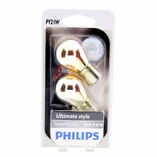 PY21W Philips SilverVision Chrom Effekt Signallampe 12496SV DUO Blister 2 St.