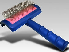 Pet Grooming SHOW TECH Hair Mat Coat*LONG REGULAR PIN*Professional SLICKER BRUSH