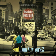 Various Artists : Down in the Basement: Soul from New York - Volume 2 CD (2014)