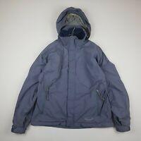 PATAGONIA Womens Vintage Jacket Coat Fleece Lined Purple Size Medium