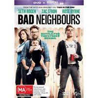 BAD NEIGHBOURS Seth Rogen DVD + Ultraviolet NEW