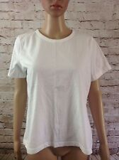 CHEROKEE ULTIMATE TEE Size L  Neck Stretch Knit Top FAST FREE SHIP!