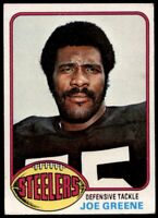 JOE GREENE 1976 TOPPS FOOTBALL #245 CARD....BUY 20/SPEND $30 GET FREE SH!!!