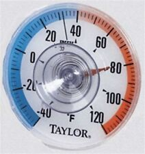 "Trend Window Thermometer  #5321N  3.5"" Diameter  NEW"