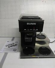 New Bunn Commercial Coffee Maker Machine 3 Pot Warmer Pour Over 12 Cup Brewer