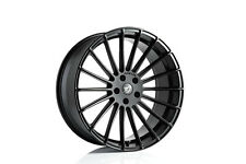 BMW X6M X5M F85 F86 22x10.5 22x12 HAMANN ANNIVERSERY EVO BLACK WHEEL SET GENUINE