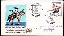 Belgien 1721 FDC, Tag der Briefmarke 1973