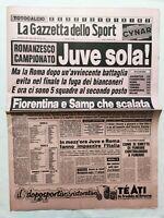 GAZZETTA DELLO SPORT 5-12-1983 LAZIO-FIORENTINA 1-2 VERONA MILAN JUVENTUS ASCOLI