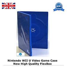 200 Nintendo Wii U Jeu Vidéo CASE haute qualité de remplacement neuf Housse FLEXBOX