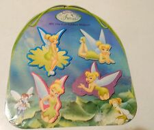 Disney Fairies: Tinker Bell Rubber Magnet Set (4) NEW
