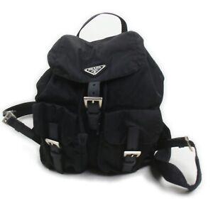 Prada Back Pack  Black Nylon 709483