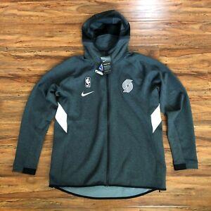 Nike NBA Portland Trailblazers Team Issue Warm Up Hoodie Jacket Men's Size Large