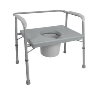 """MEDICAL 1 EA Bariatric Commode 24"""" Extra Wide Seat BSB24C CHOP"""