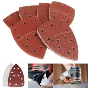 40x Mouse Sanding Sheets Hook and Loop Sander Pads 40-180 Grit 11-Hole Sandpaper