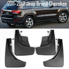 OE Front Rear set 4 Pcs Splash Mud Guards Flaps For 11-17 Jeep Grand Cherokee