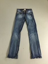 """Damen Tommy Hilfiger """"DASH"""" Jeans-w24 l34-Navy Wash-super Zustand"""