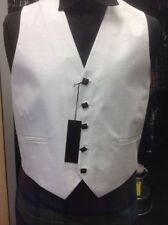 Unbranded Polyester Patternless Formal Waistcoats for Men