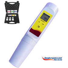 4in1 Precision TDS Conductivity Salinity Temperature Salt Meter Tester Package