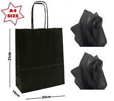 20x Papel Bolsas de regalo fiesta tamaño A4 ~ Tienda Boutique Transportador