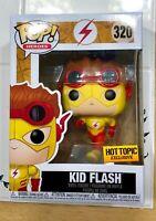 MINT Funko Pop DC Comics Hot Topic Exclusive KID FLASH #320 IN HAND